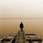 sad suffer loneliness alone bridge