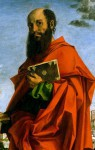 Depiction of Paul by Bartolomeo Montagna, 1482