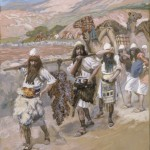 The return of the spies, by James Tissot