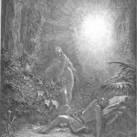 The creation of Eve, by Gustave Dore, 1866