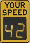 speed sign slow