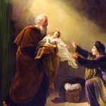 Elijah the Prophet - painting by Louis Hersent (1777-1862)