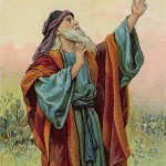 Depiction of Isaiah from a 1904 bible card