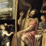 King David, by Domenico Zampieri