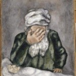 Abraham weeps for Sarah, by Marc Chagall