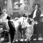 Blessing the children on the Sabbath eve, by Moritz Oppenheim, 1867