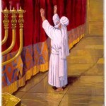 kohen gadol kodesh hakodashim holy of holies high priest temple mishkan tabernacle mikdash