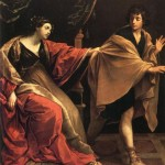 Guido Reni's depiction of Joseph and Potiphar's wife, 1631