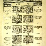The Ten Plagues, Venice Haggadah, 1609