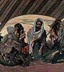 Moses & Jethro, by James Tissot