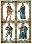 The Four Sons, from the Szyk Haggadah