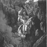 The destruction of Korach, Datan & Aviram, by Gustave Dore, 1865