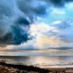 sky belief clouds horizon