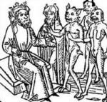 Beli'al and his followers, by Jacobus de Teramo, 1473