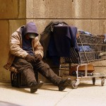 homeless man poverty poor charity