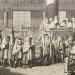 Hoshanot procession on Sukkot, engraving by Bernard Picart, c.1723