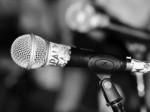 microphone press media