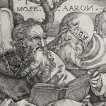 Moses & Aaron, by Hans Sebald Beham, 16th century