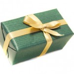 wrapped box present gift