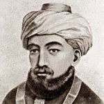 Depiction of Maimonides