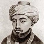 Depiction of Maimonides