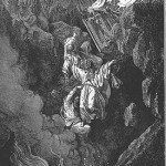 The death of Korah, by Gustave Dore