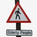 elderly old senior