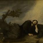 Jacob lays down to sleep, by José de Ribera, 1639