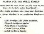 prayer for the queen royal family