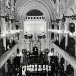 A bat-mitzvah ceremony at the Great Synagogue, Sydney