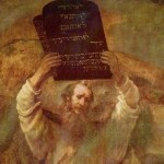 with the ten commandments