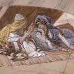 Abraham & Sarah, by James Tissot c. 1896