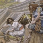 Jacob & Esau, by James Tissot c.1896
