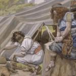Jacob & Esau, by James Tissot c.1896