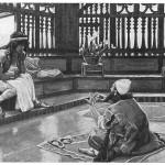 Judah converses with Joseph, by James Tissot