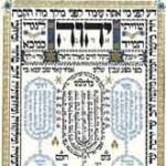 God's four letter name appears at the top of this kabbalistic montage