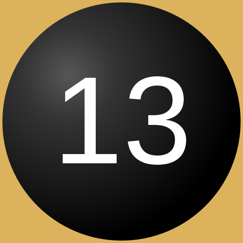 the number 13. The Christian world was responsible for the anti-13 ...