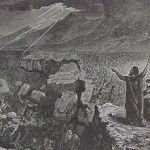 The death of Korach & his followers, from the 1890 Holman Bible
