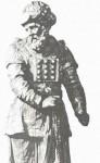 18th century Dutch oak statue of Aaron, the High Priest
