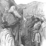 Moses rebukes the Israelites
