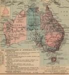 Australia map colonial