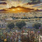 Jerusalem, painting by Ruth Mayer
