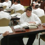 yeshiva school students class haredi orthodox