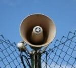 megaphone bull horn broadcast