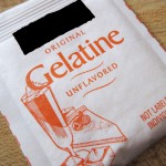 gelatine jelly