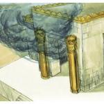 pillars jachin boaz temple