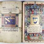 A page from the Darmstadt Haggadah