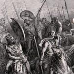 Maccabees warriors battle