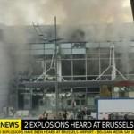 Brussels airport Belgium