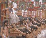 Joseph dwells in Egypt, by James Tissot
